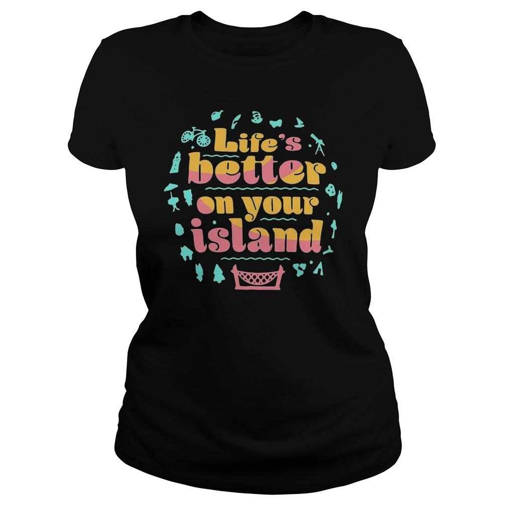 Life's Better On Your Island Tank Top