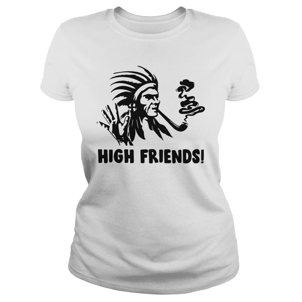 Native American High Friends Longsleeve