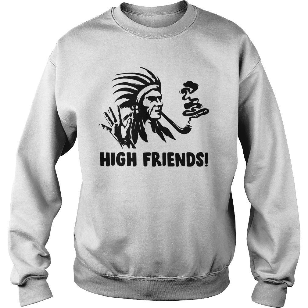 Native American High Friends Sweater