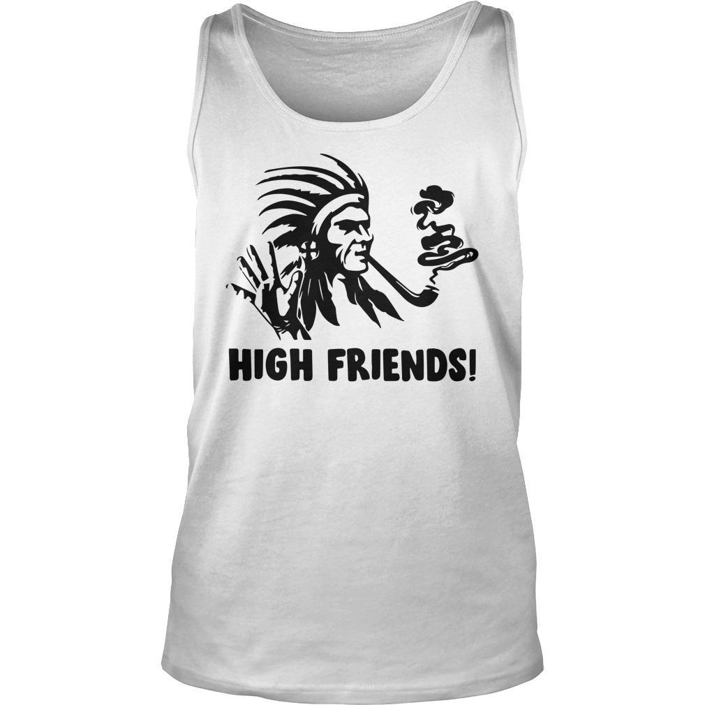 Native American High Friends Tank Top