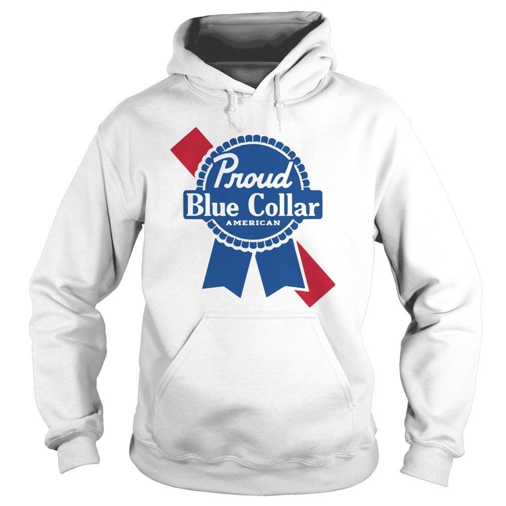 Proud Blue Collar American Hoodie