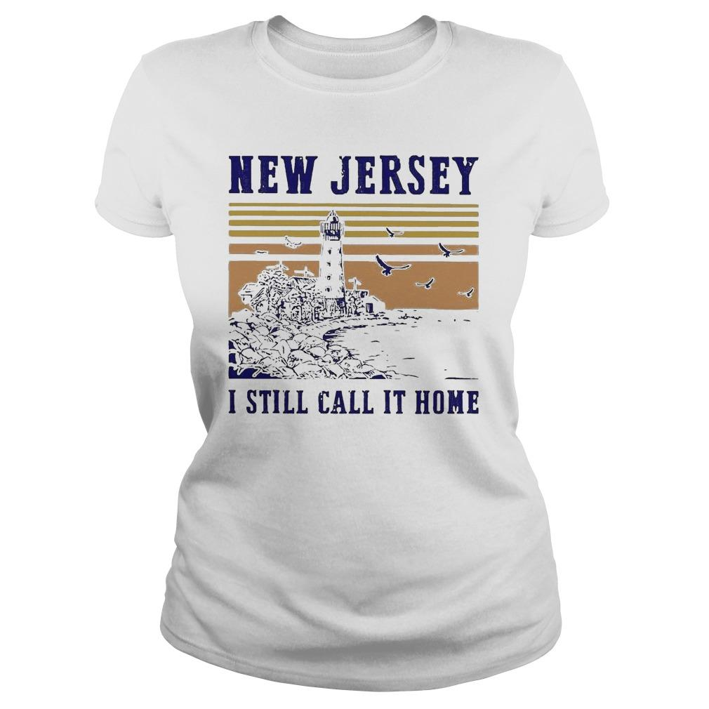 Vintage New Jersey I Still Call It Home Sweater