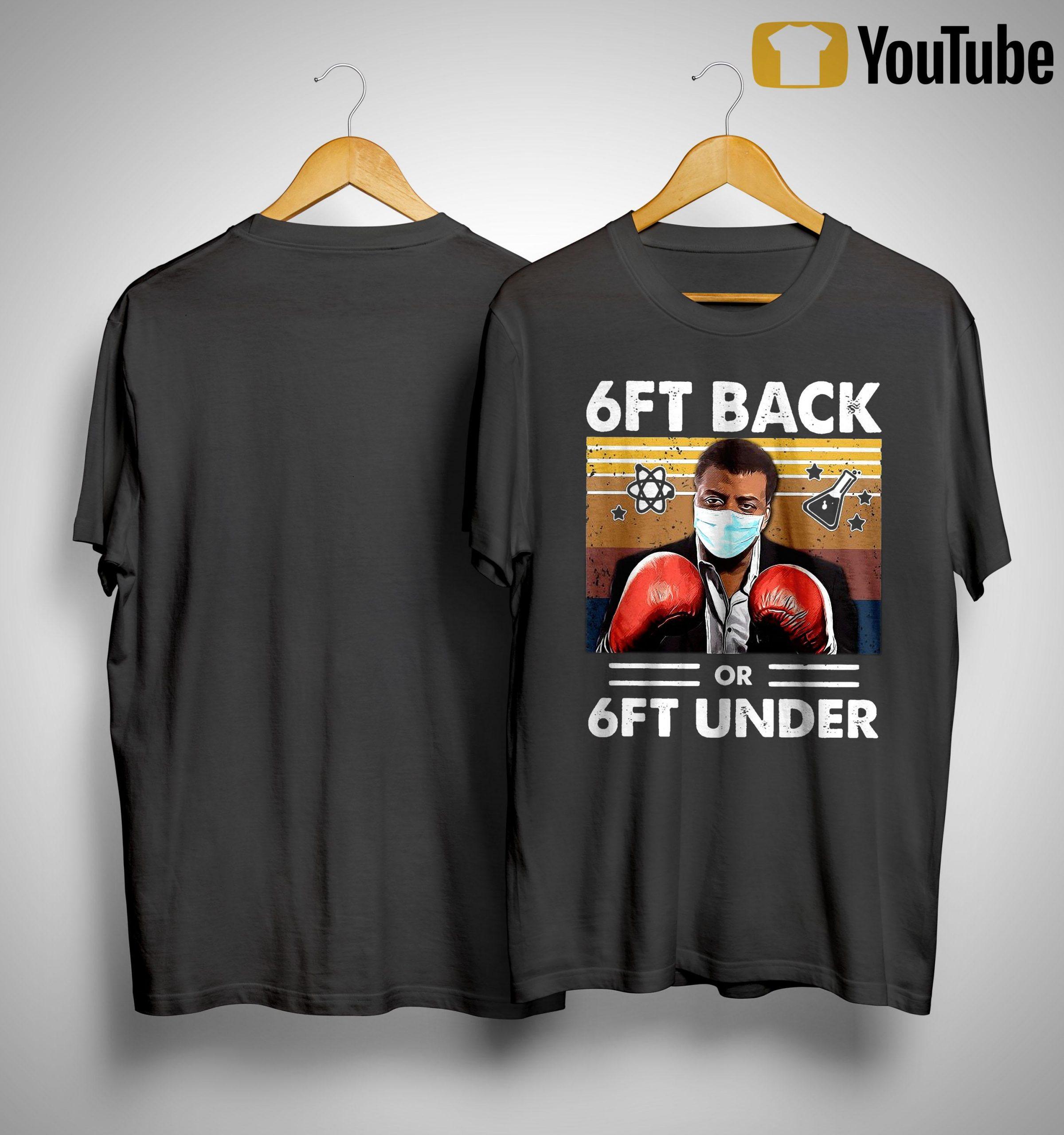 Vintage Science 6ft Back Or 6ft Under Shirt