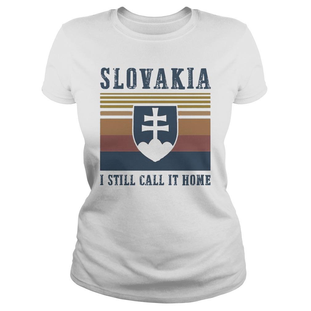 Vintage Slovakia I Still Call It Home Longsleeve