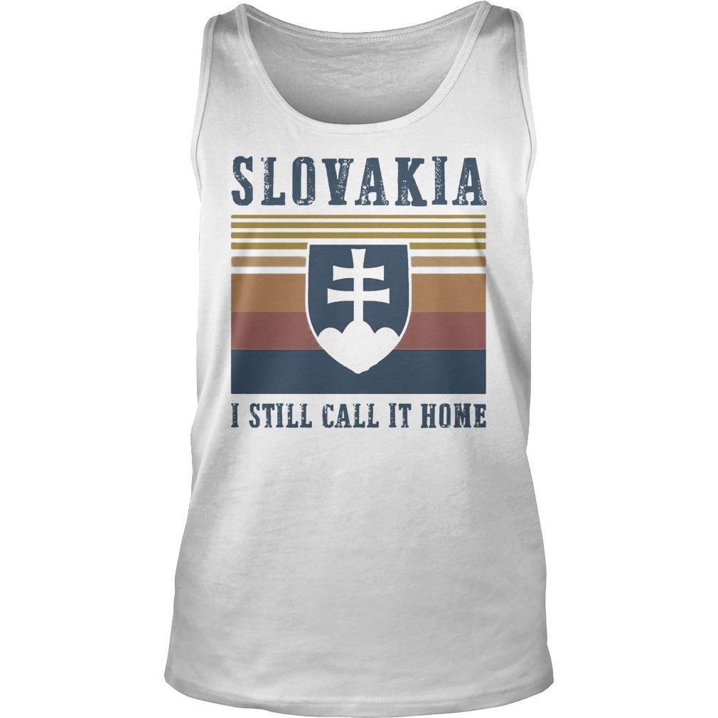 Vintage Slovakia I Still Call It Home Tank Top