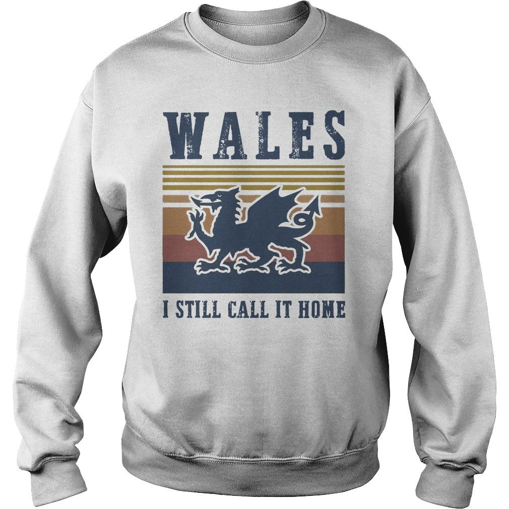Vintage Wales I Still Call It Home Sweater