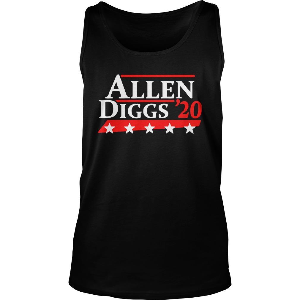 Allen Diggs 20 Tank Top