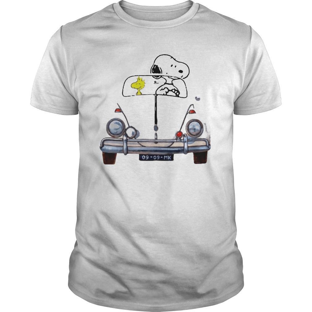 Car Snoopy And Woodstock Car 176 Vw Beetle 9 9 Mk Shirt