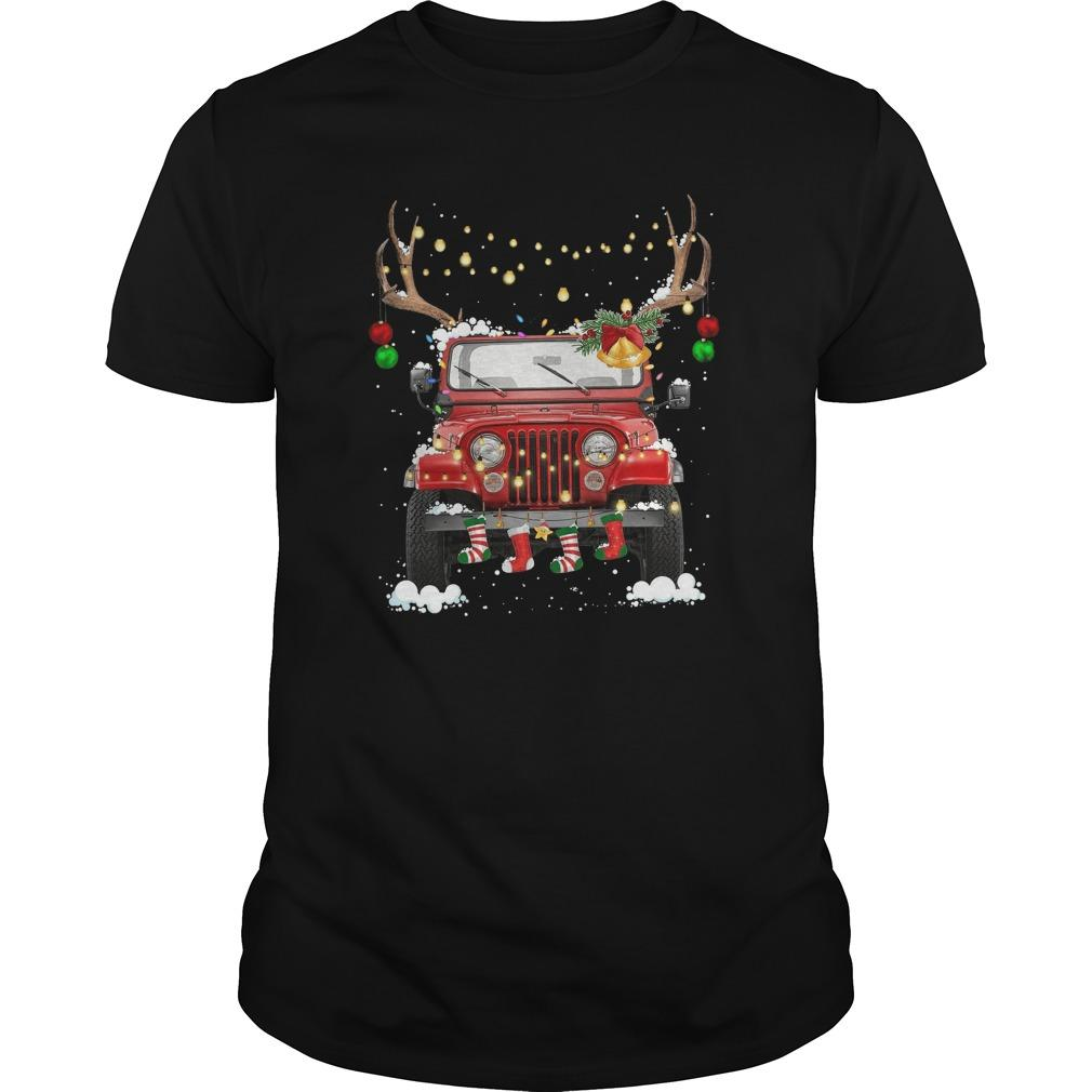 Christmas Jeep Longsleeve