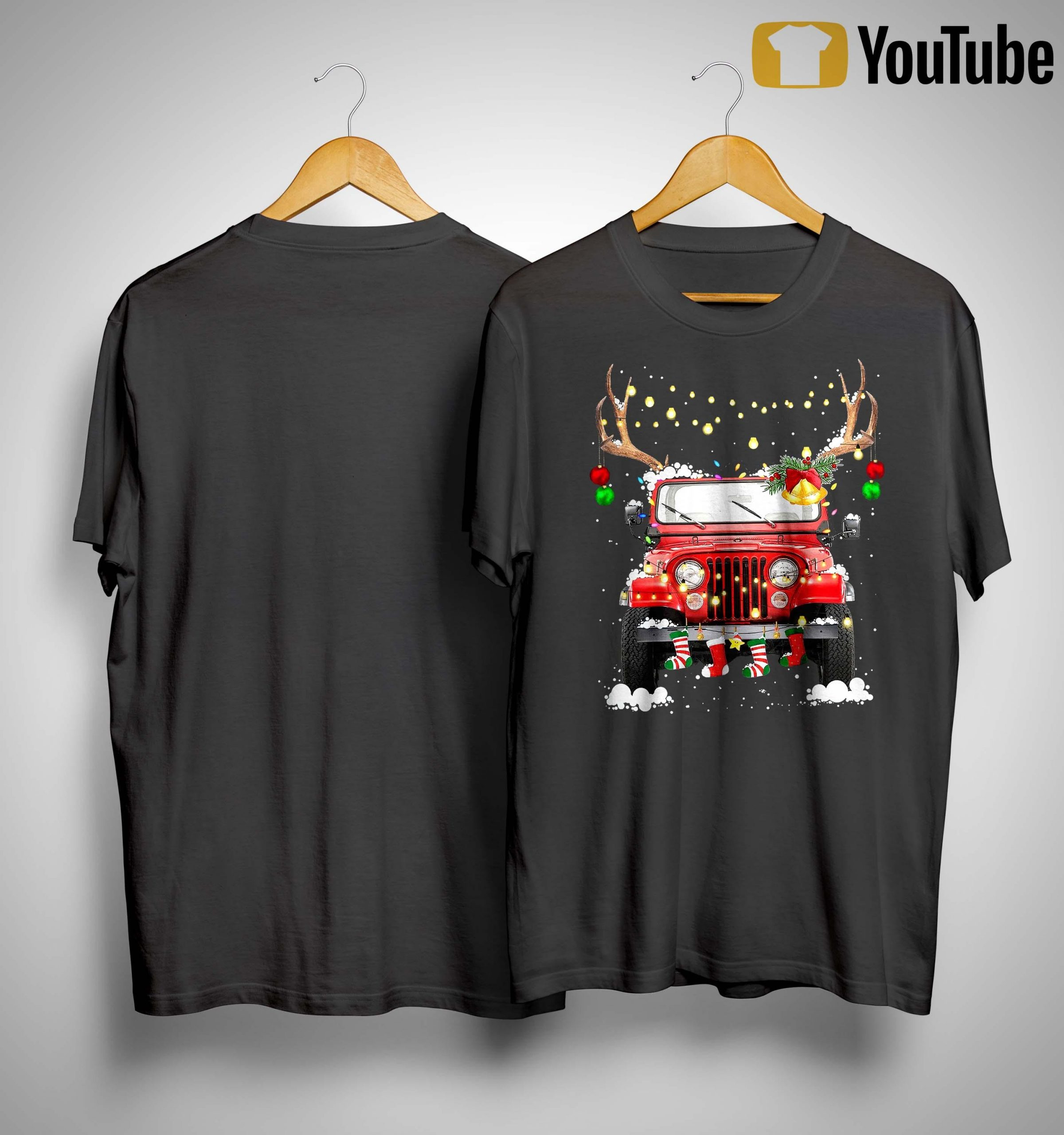 Christmas Jeep Shirt
