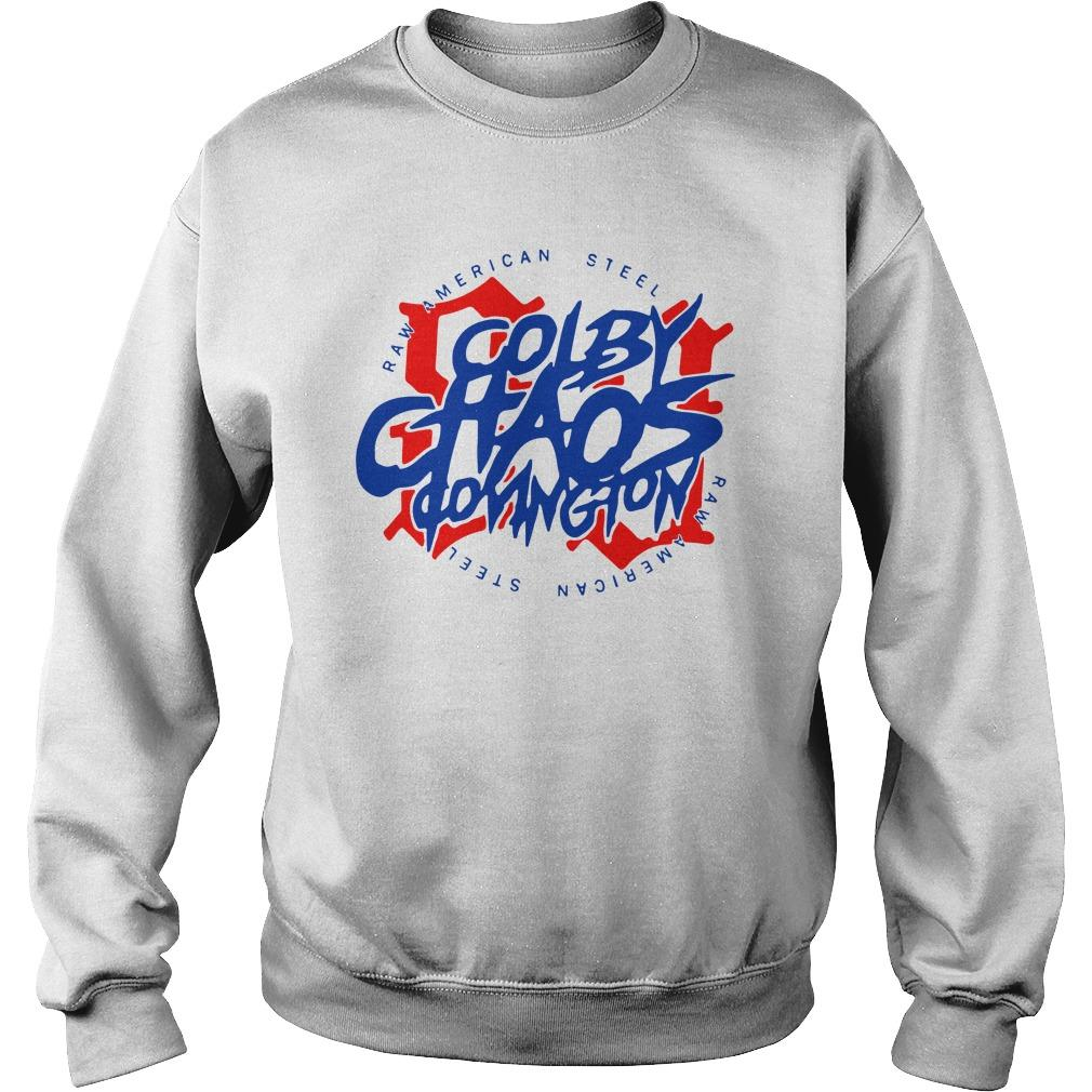 Colby Chaos Covington Raw American Steel Sweater