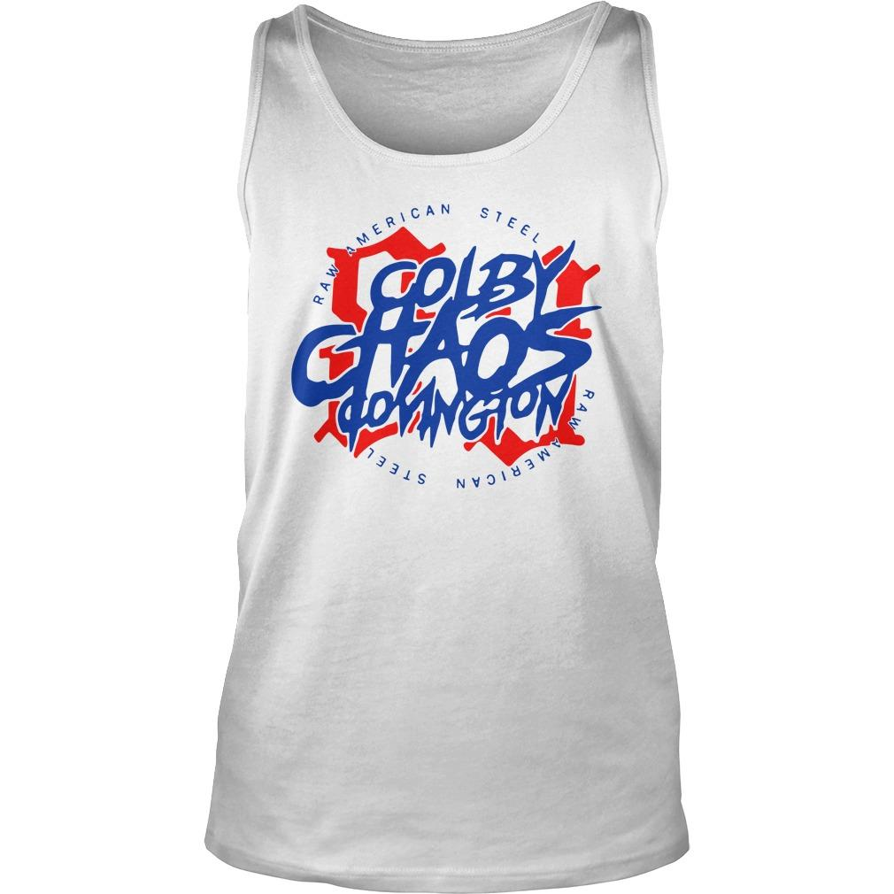 Colby Chaos Covington Raw American Steel Tank Top