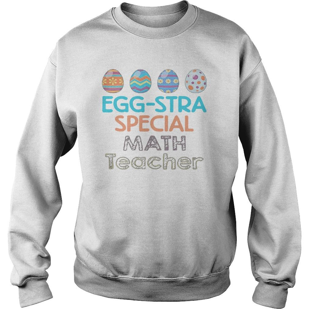 Colorful Eggstra Special Math Teacher Sweater