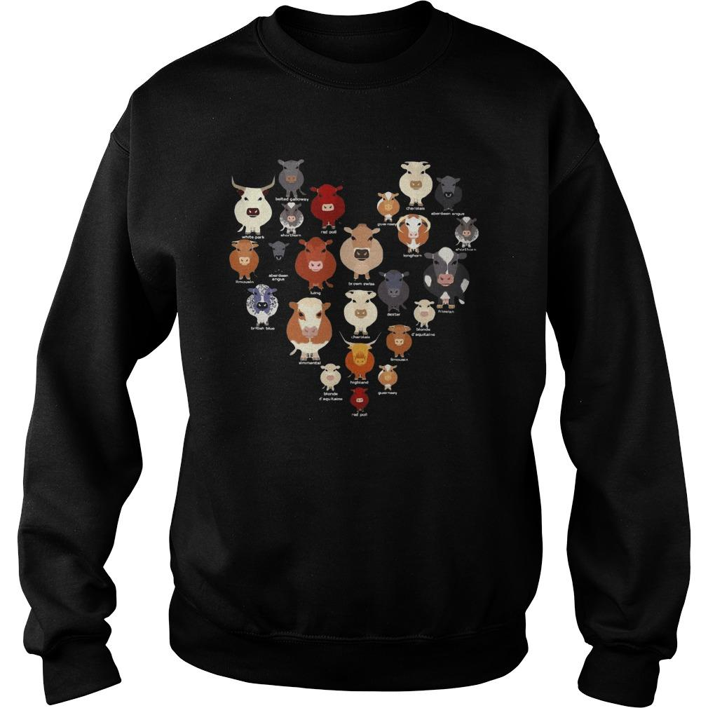 Cows Heart Sweater
