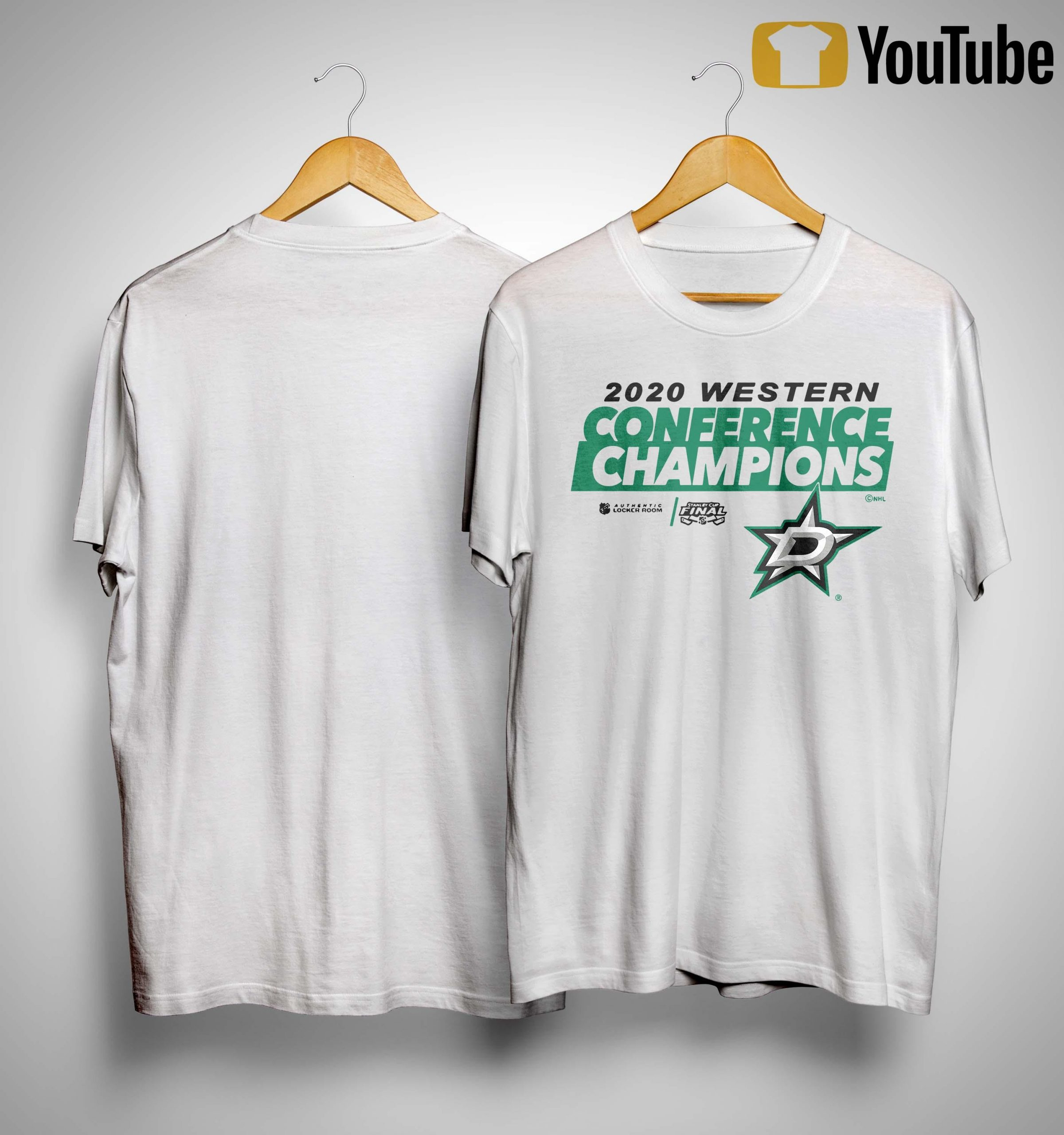 Dallas Stars 2020 Western Conference Champions Shirt