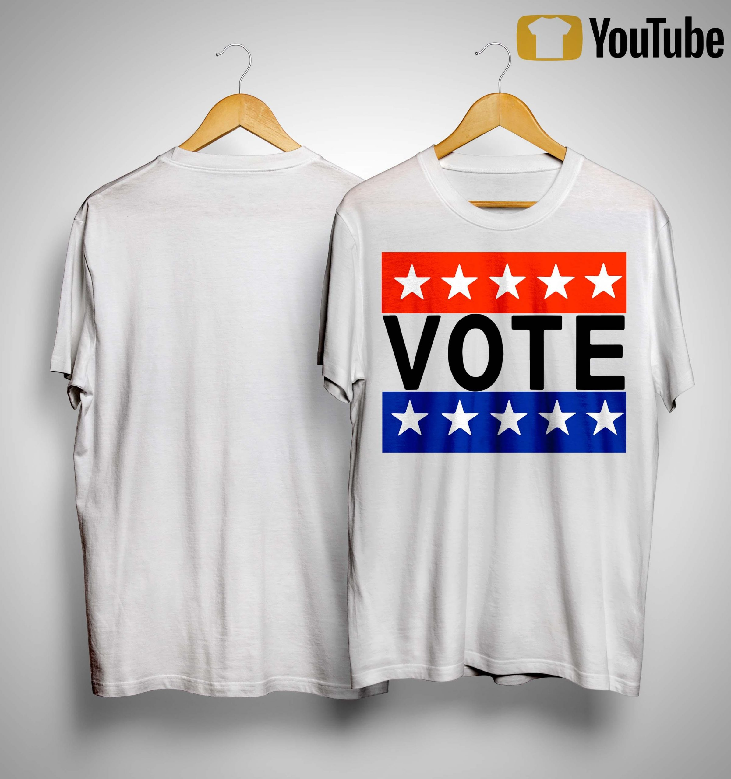 Election Day Rock The Vote T Shirt