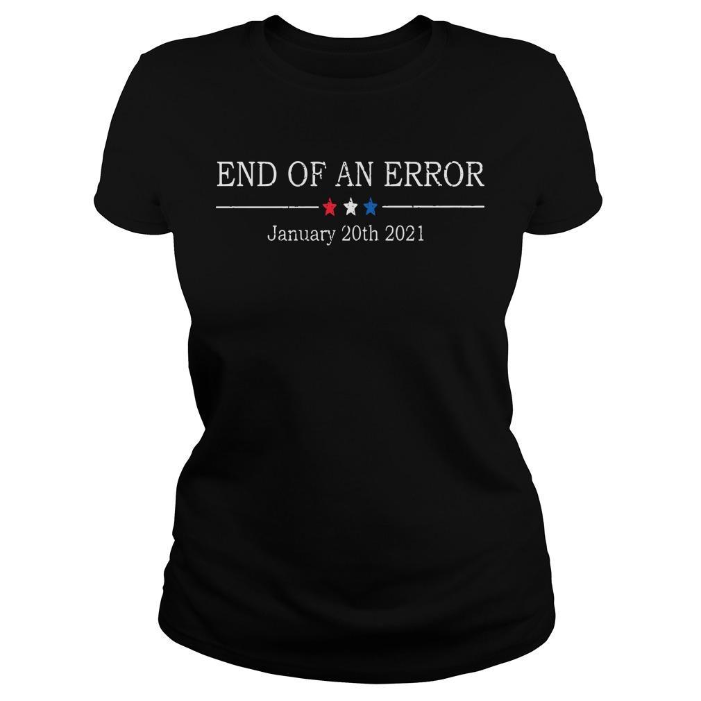 End Of An Error January 20th 2021 Longsleeve