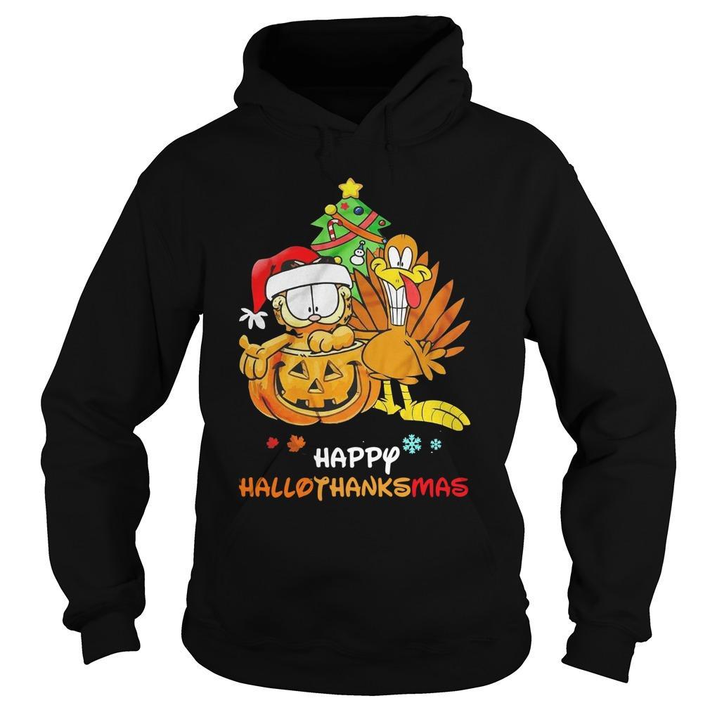 Garfield Happy Hallothanksmas Hoodie