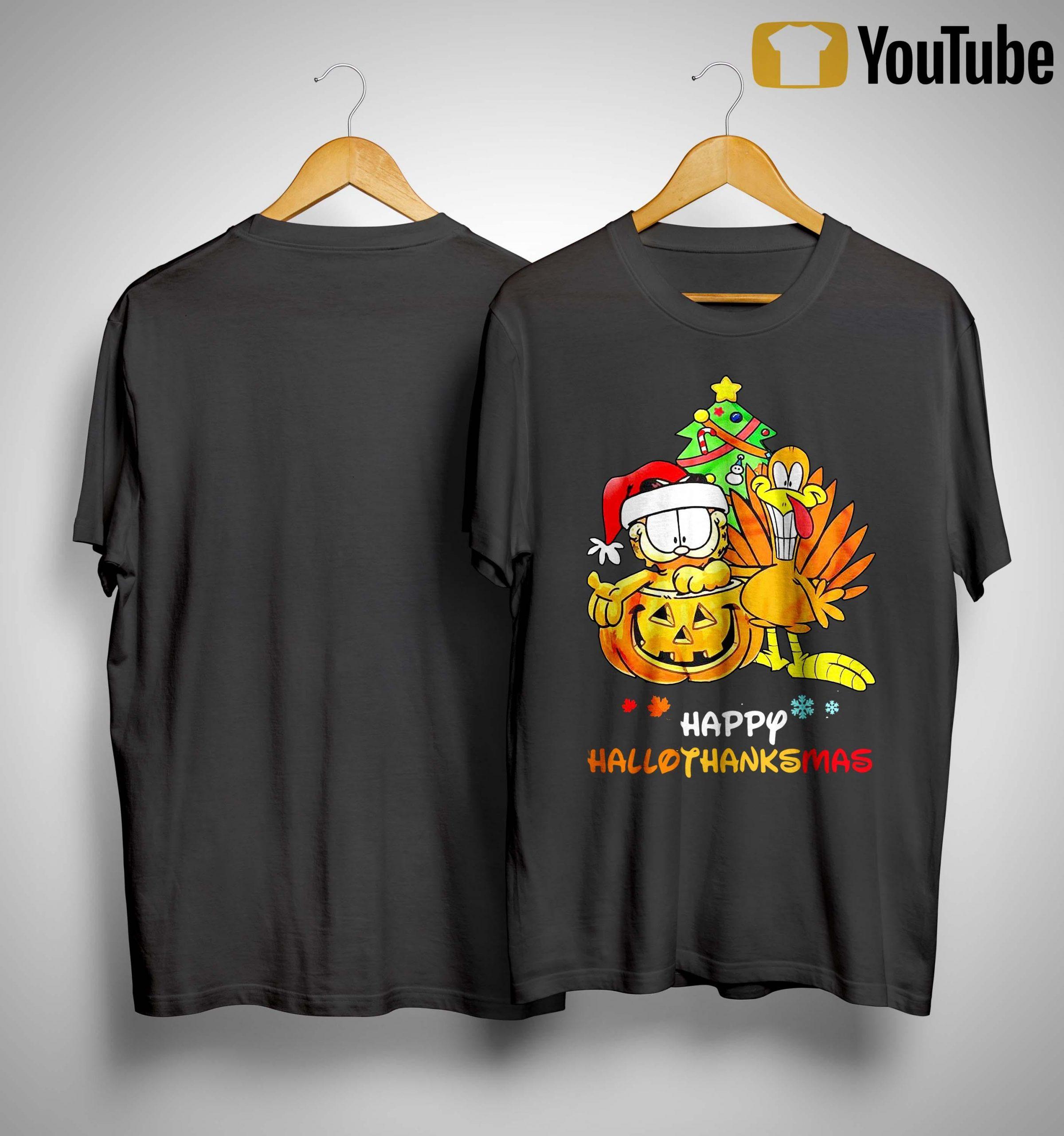 Garfield Happy Hallothanksmas Shirt
