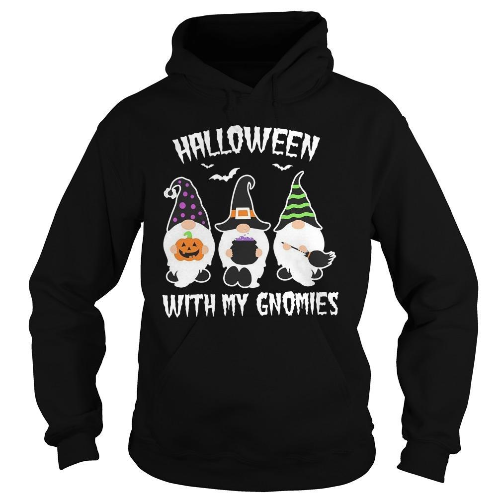Halloween With My Gnomies Hoodie