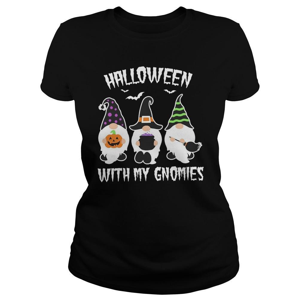 Halloween With My Gnomies Longsleeve