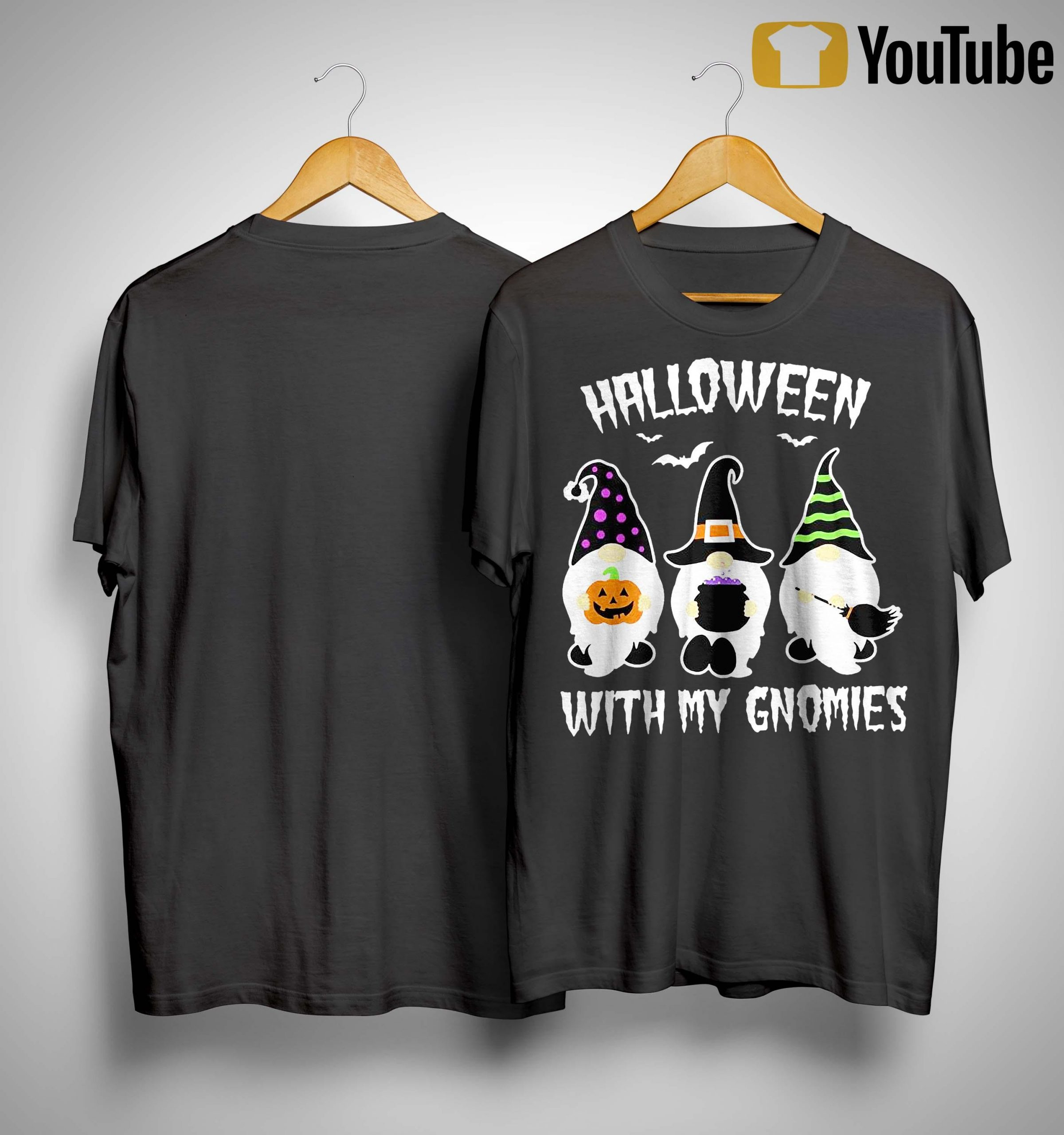 Halloween With My Gnomies Shirt
