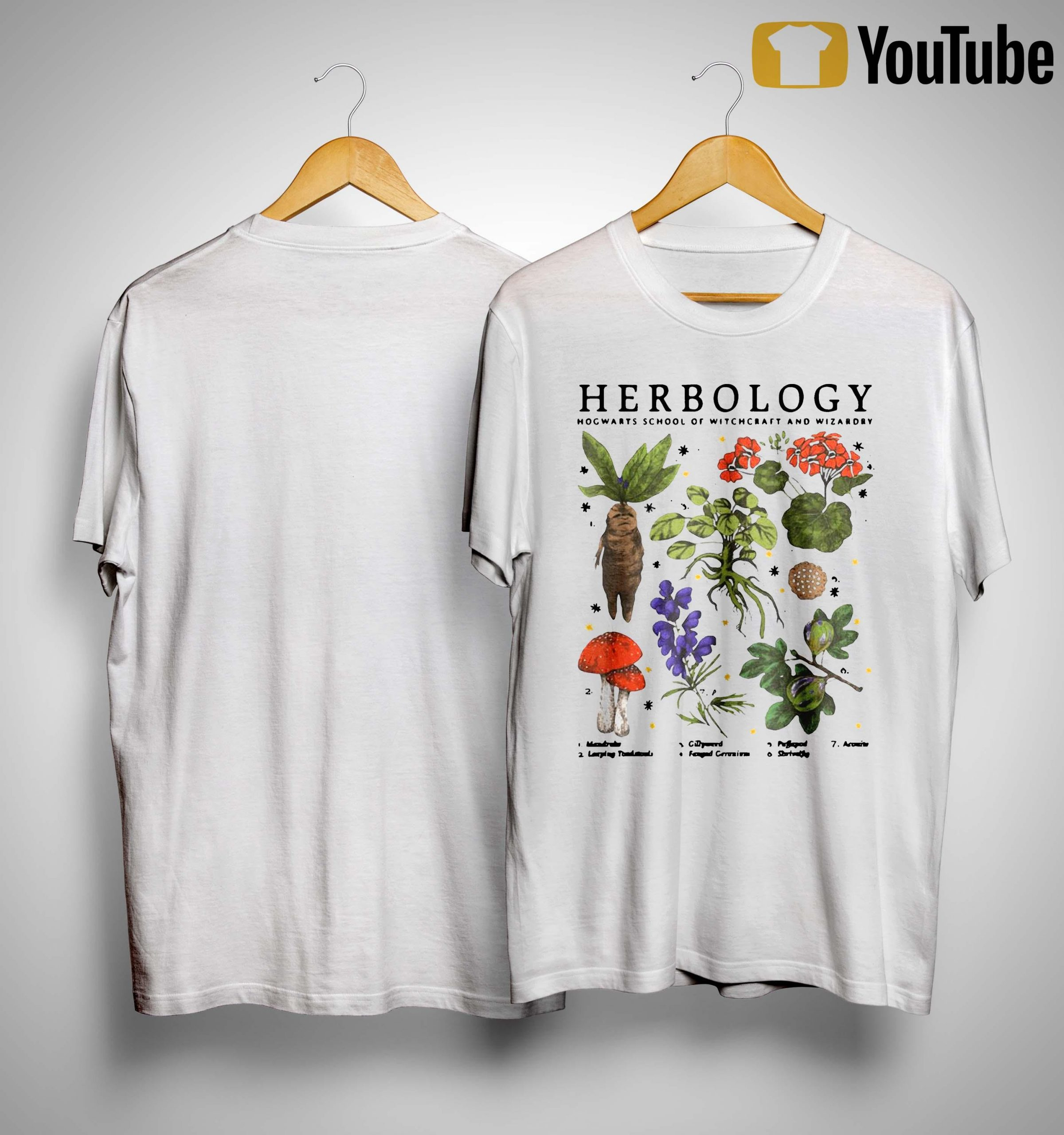 Herbology Hogwarts School Of Witchcraft And Wizardry Shirt
