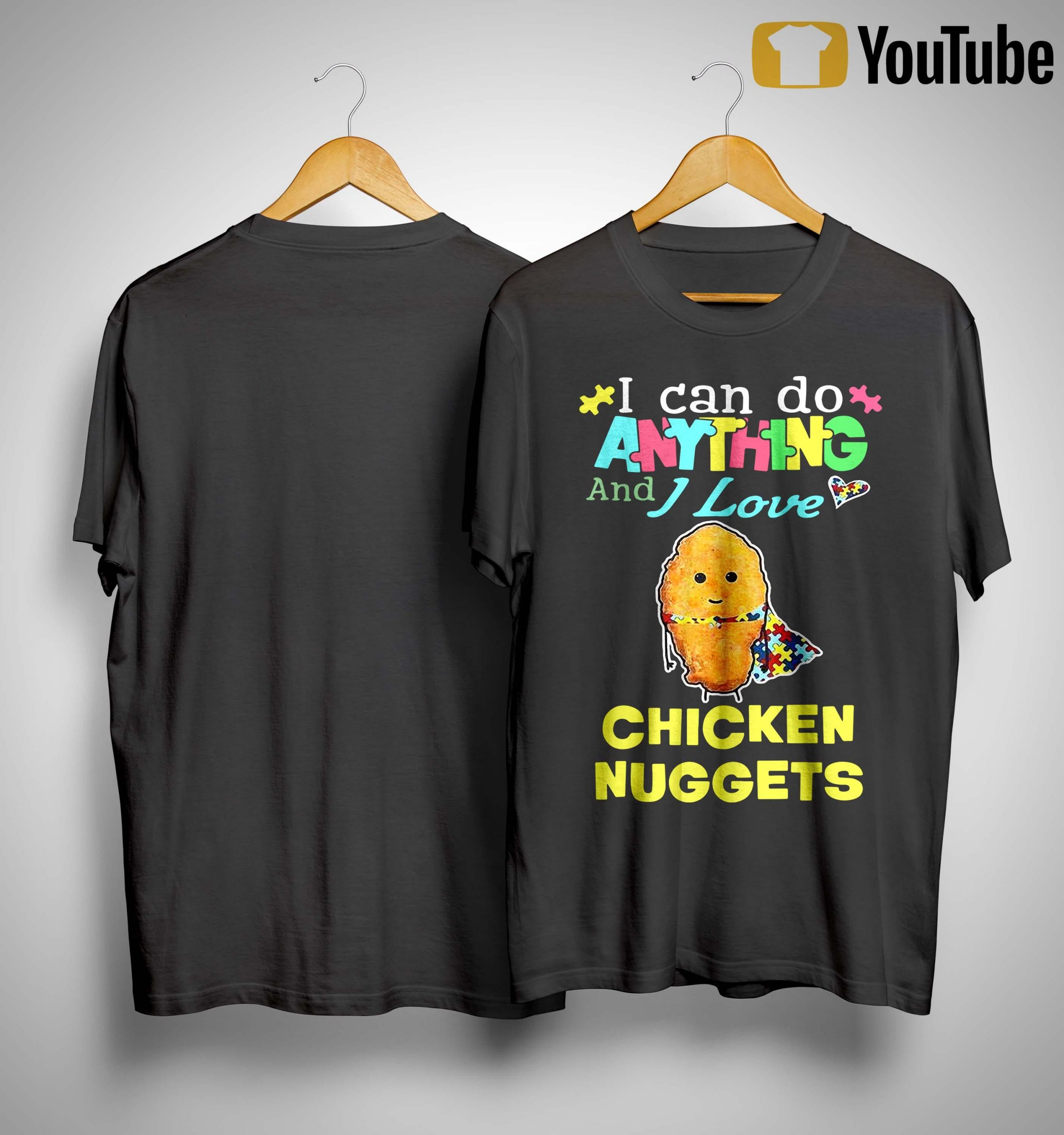 I Can Do Anything And I Love Nuggets Shirt