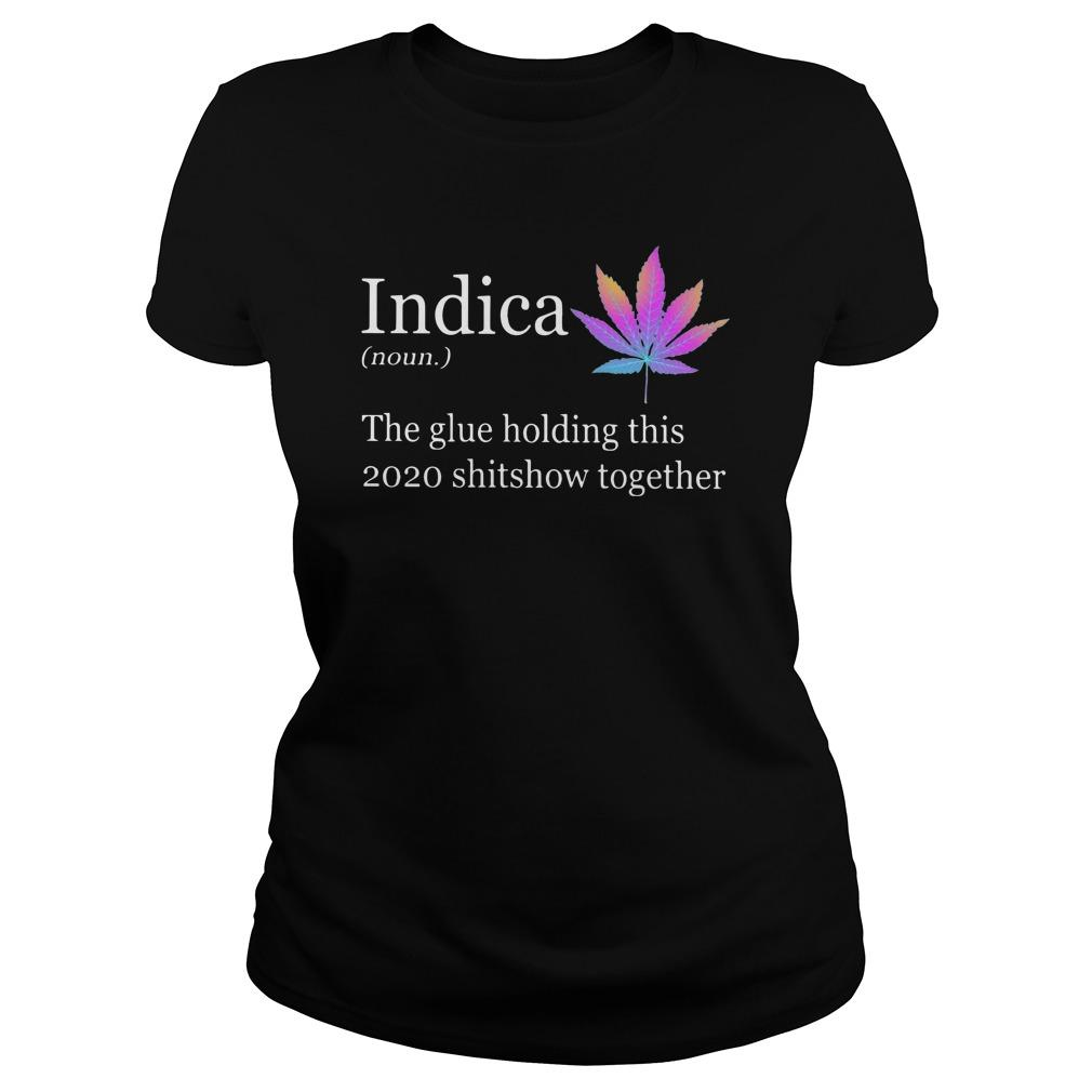 Indica The Glue Holding This 2020 Shitshow Together Longsleeve