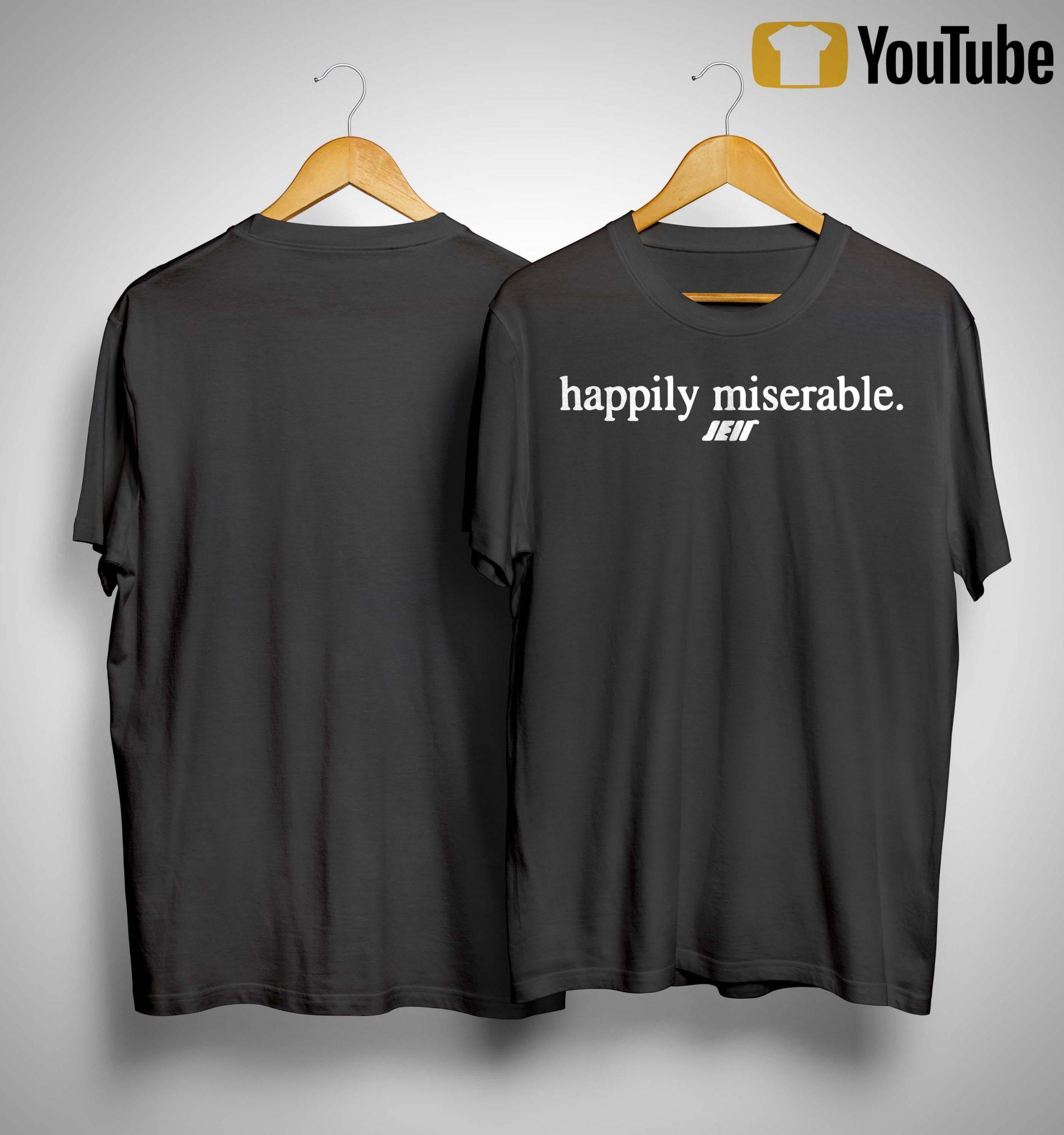 Julian Edelman Happily Miserable Shirt