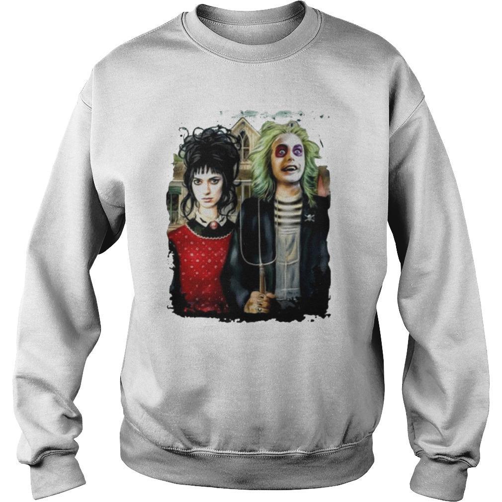 Michael Keaton And Winona Ryder Sweater