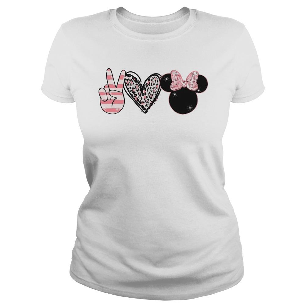 Minnie Peace Love Magic Longsleeve