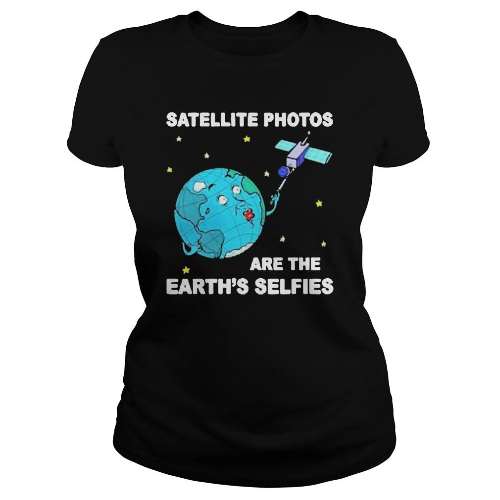 Satellite Photos Are The Earth's Selfies Longsleeve