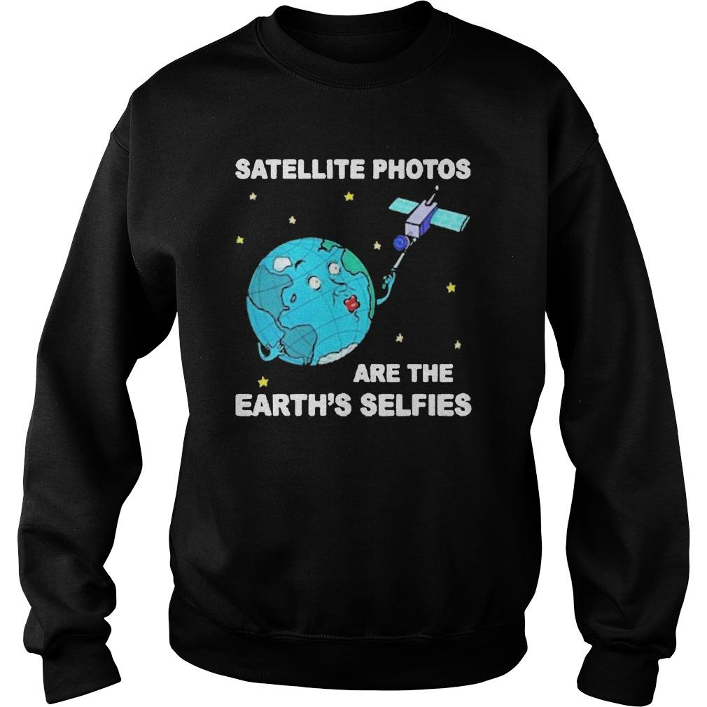 Satellite Photos Are The Earth's Selfies Sweater