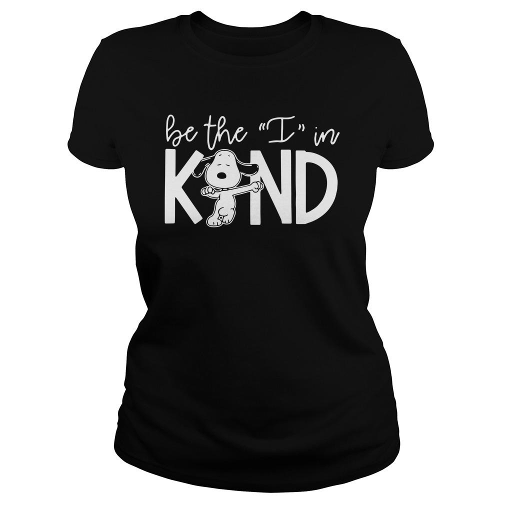 Snoopy Be The I In Kind Longsleeve