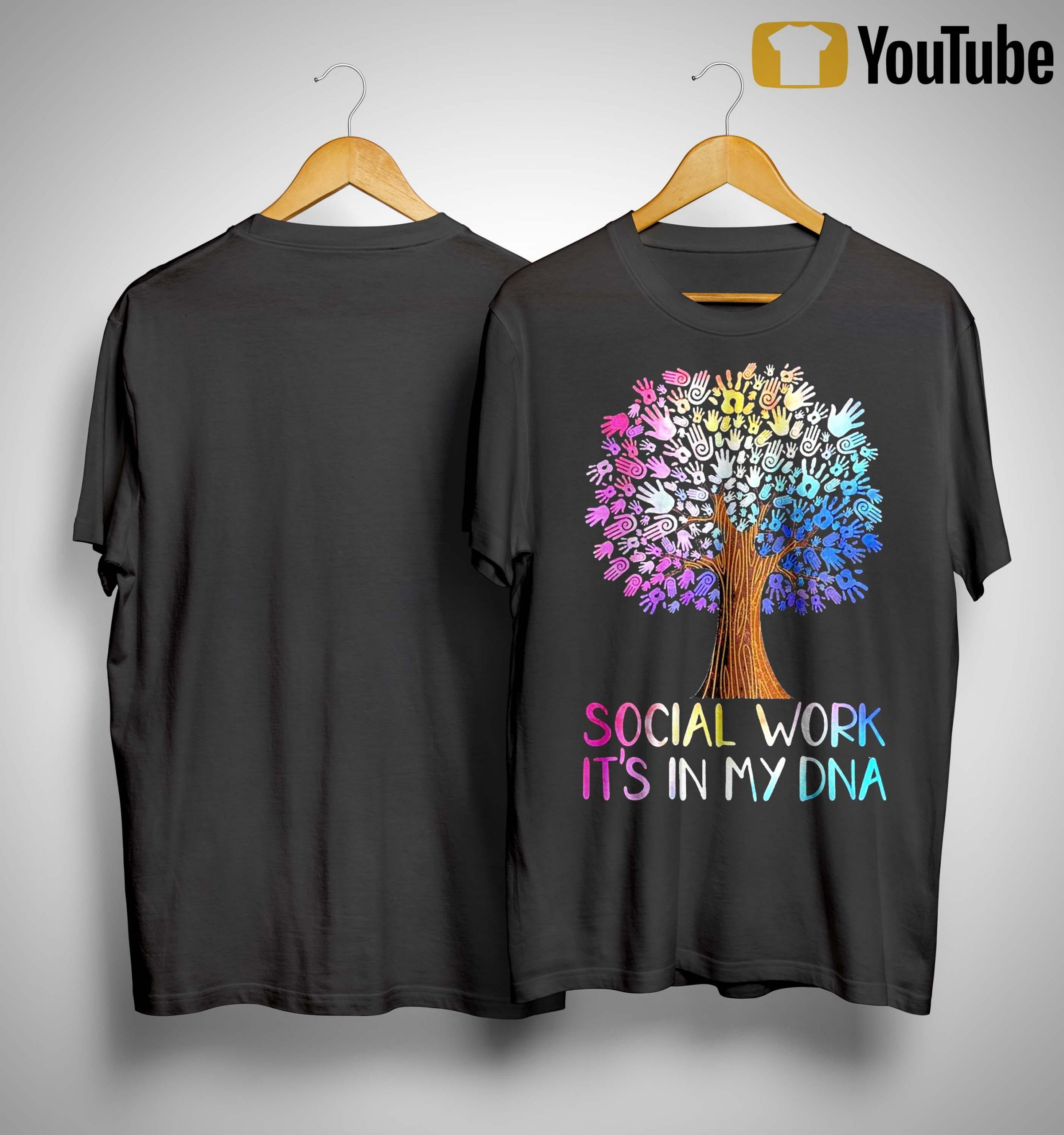 Social Work It's In My Dna Shirt