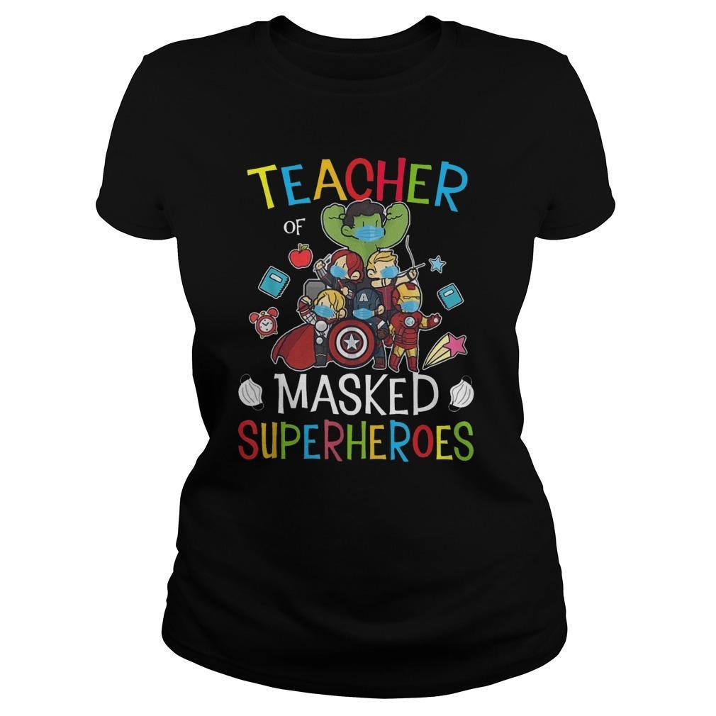 Teacher Of Masked Superheroes Tank Top