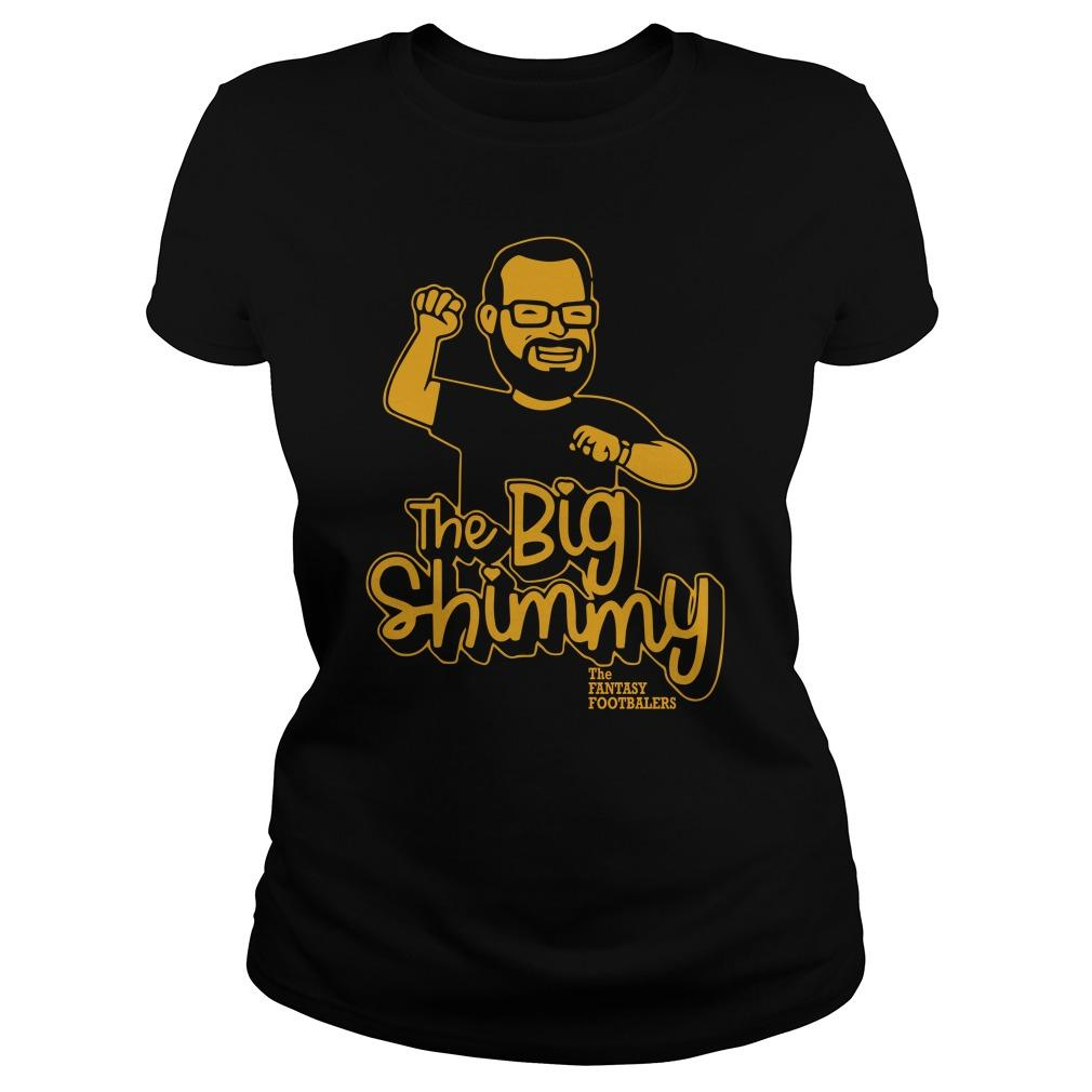 The Big Shimmy The Fantasy Footballers Tank Top