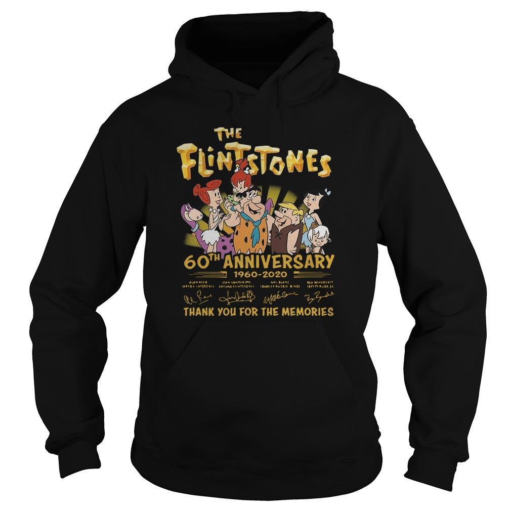 The Flintstones 60th Anniversary 1960 2020 Signatures Hoodie