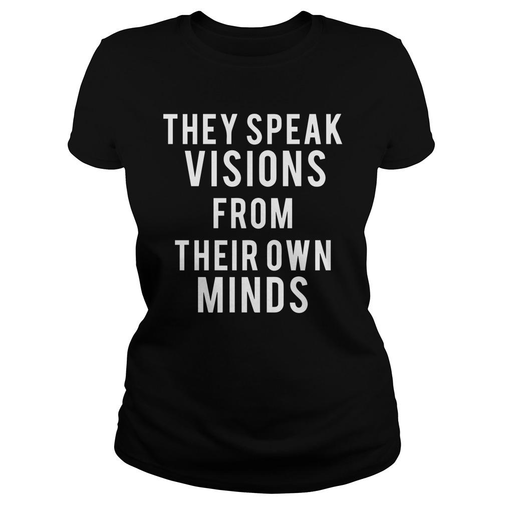 They Speak Visions From Their Own Minds Tank Top