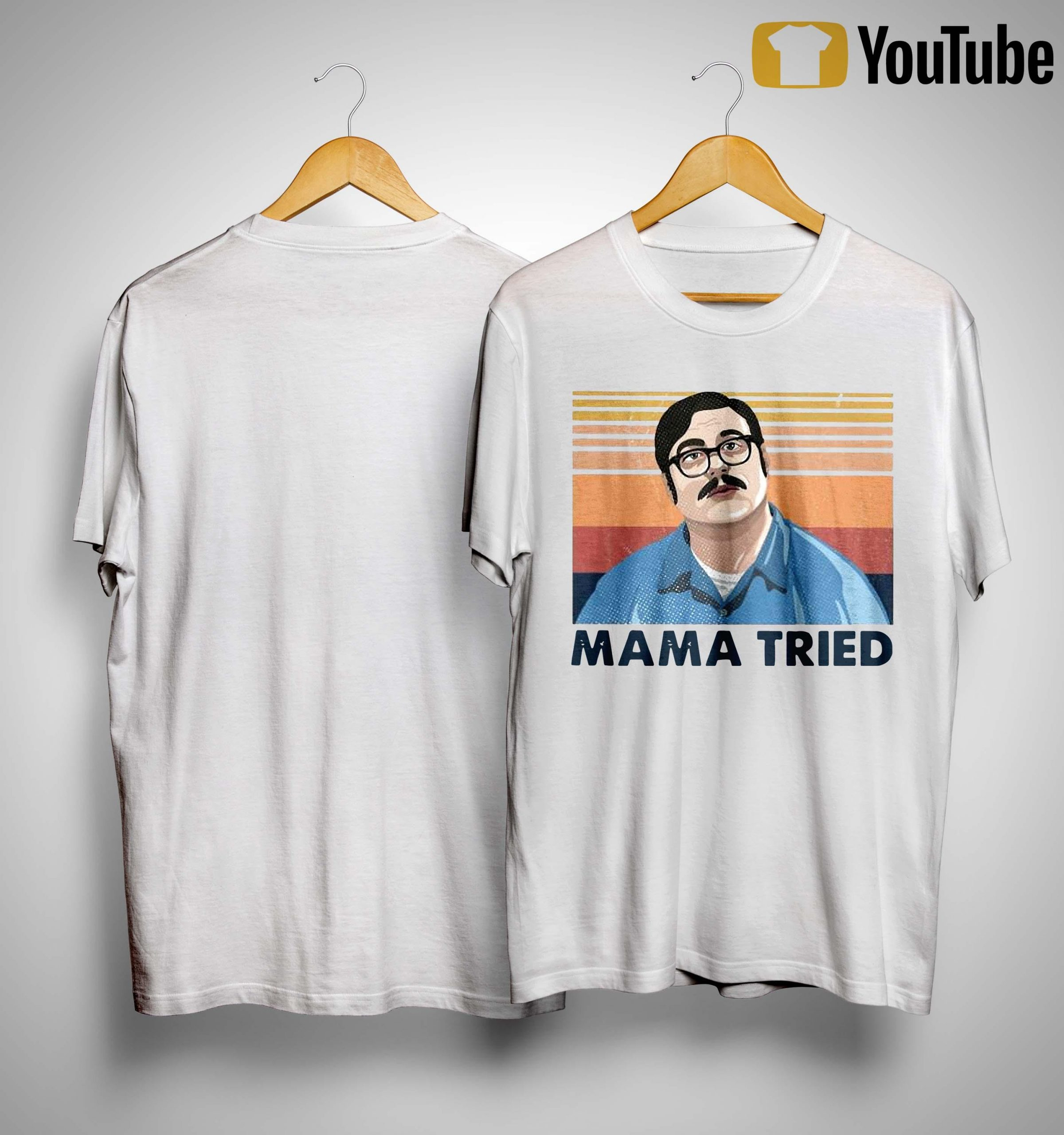 Vintage Edmund Kemper Mama Tried Shirt
