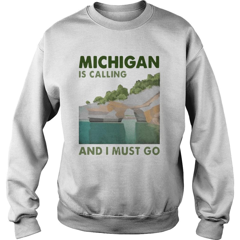 Vintage Michigan Is Calling And I Must Go Sweater