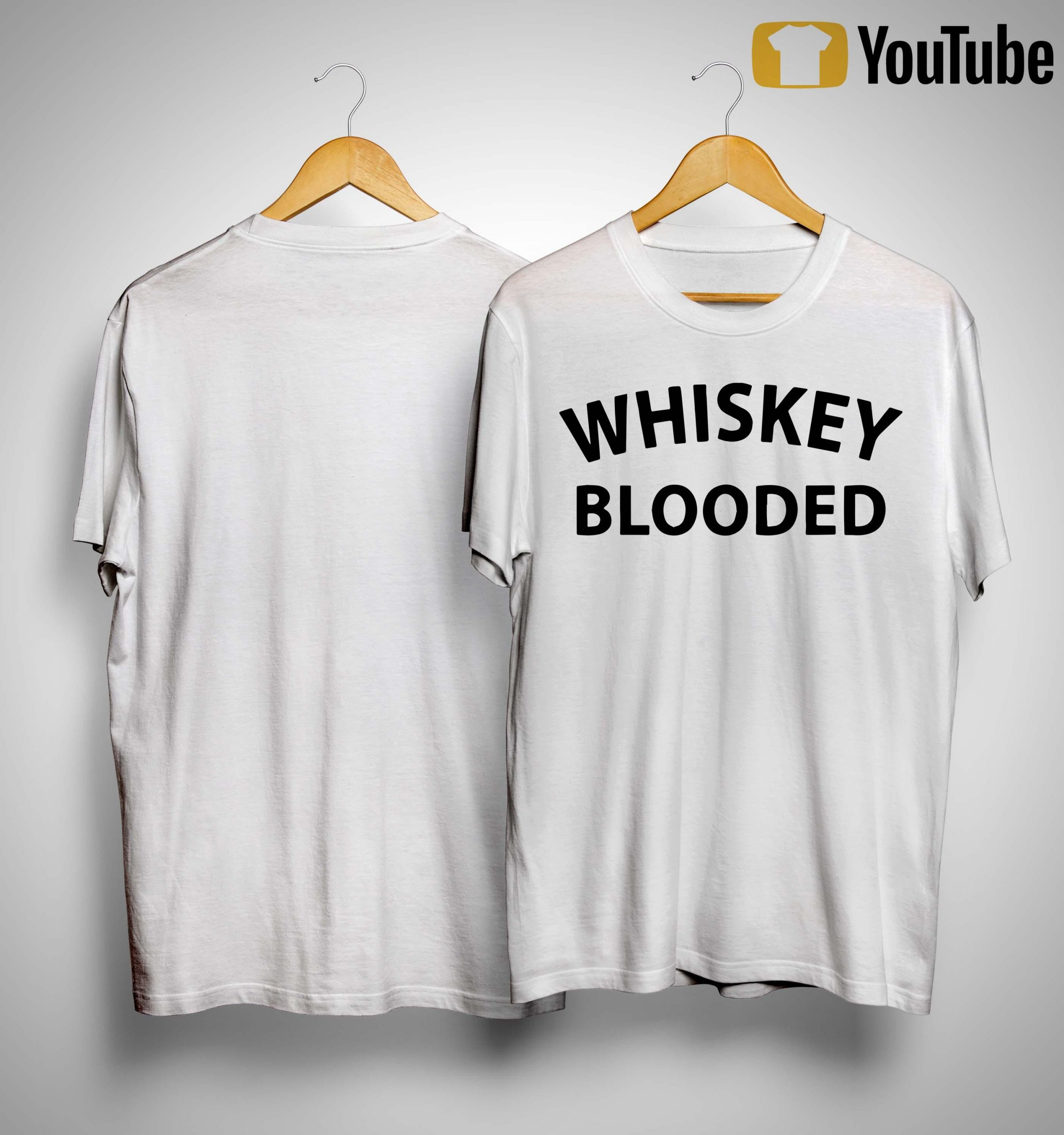 Whiskey Blooded T Shirt