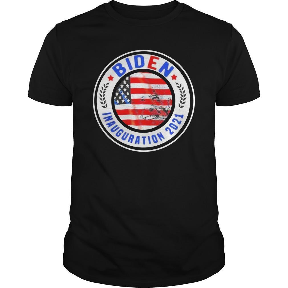 American Flag Biden Inauguration 2021 Longsleeve