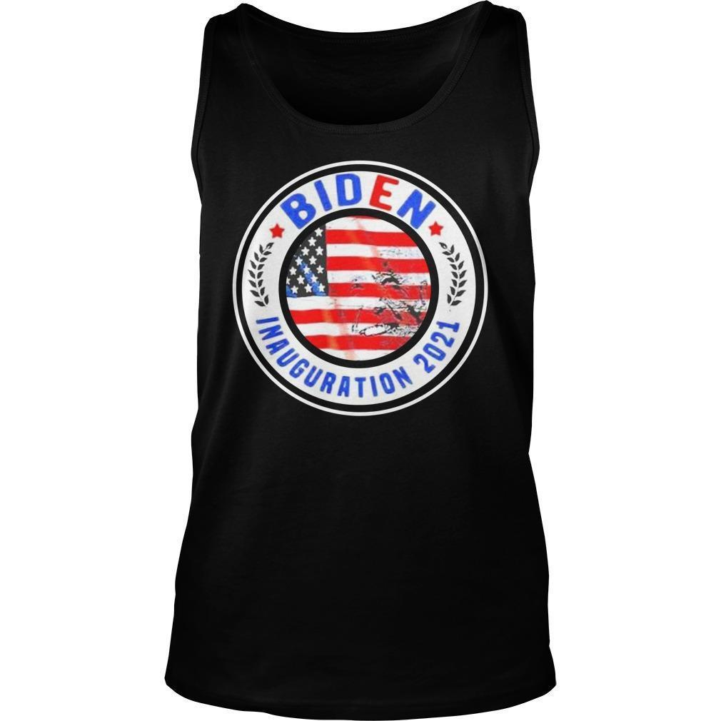 American Flag Biden Inauguration 2021 Tank Top