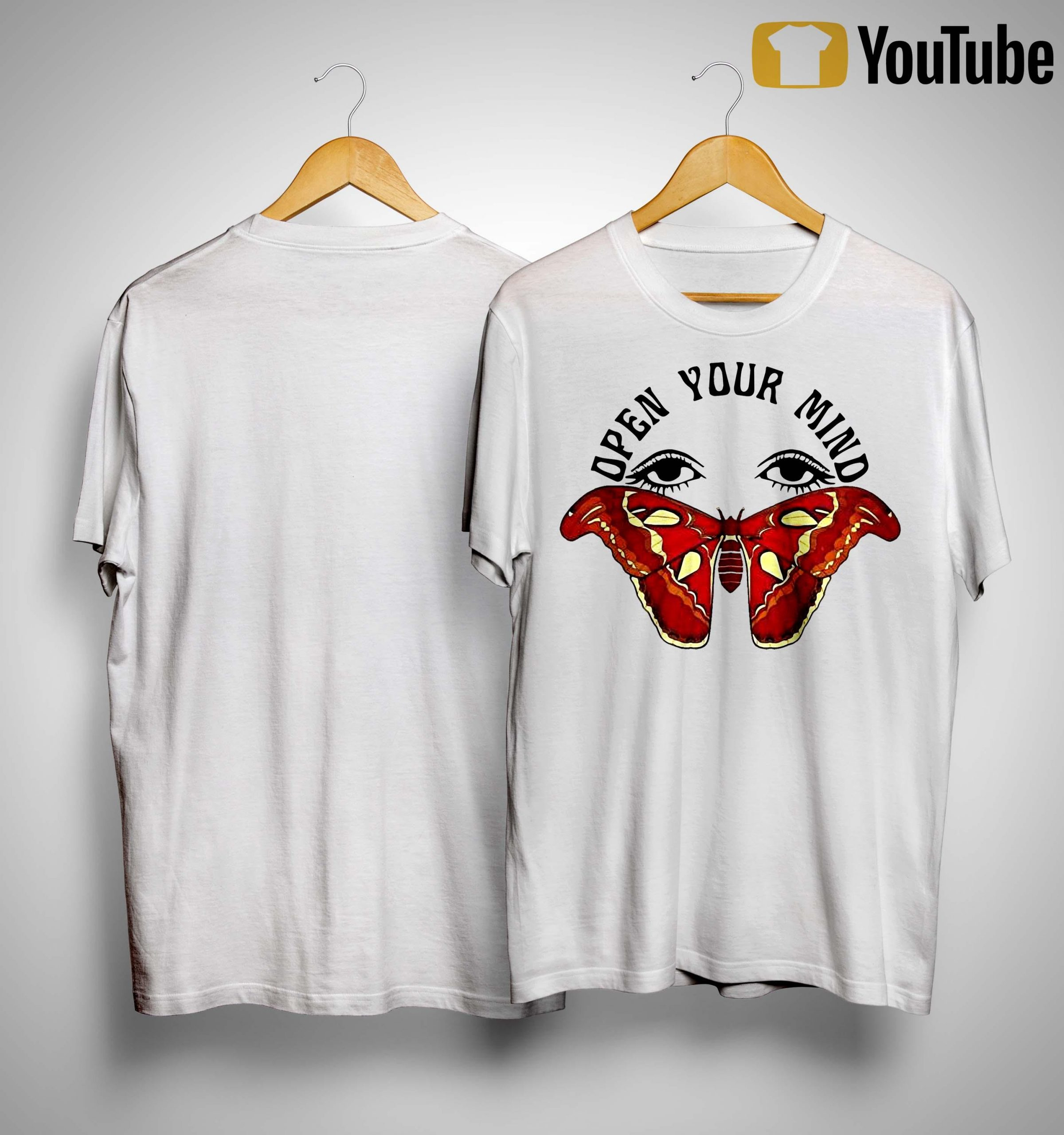 Butterfly Eyes Open Your Mind Shirt