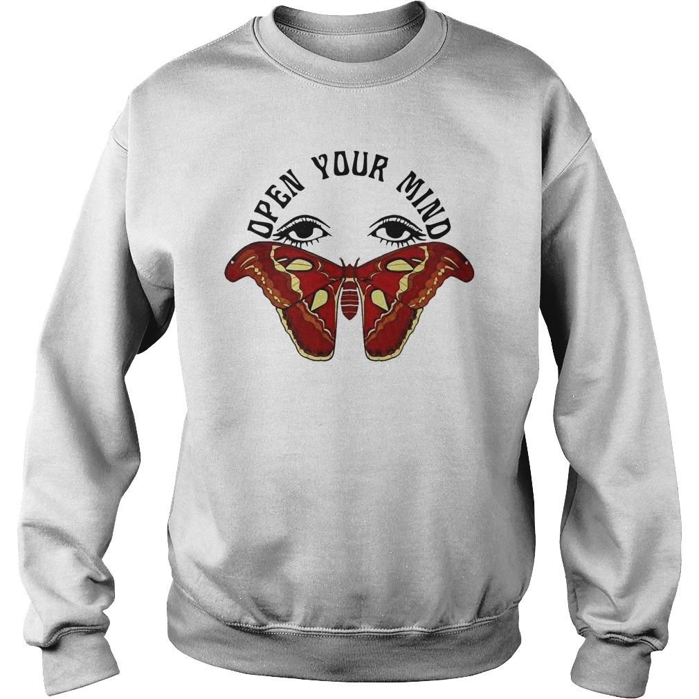 Butterfly Eyes Open Your Mind Sweater