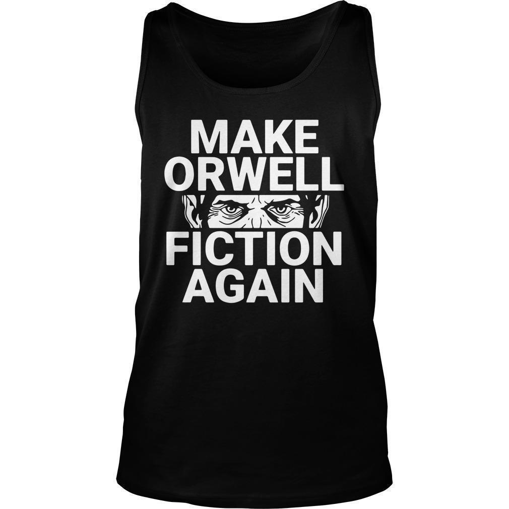Dual Blend Make Orwell Fiction Again Tank Top
