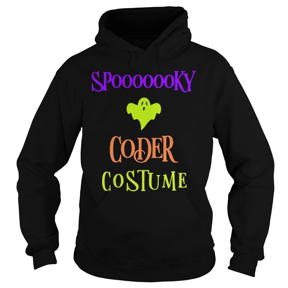 Halloween Humor Day Spooky Coder Costume Hoodie