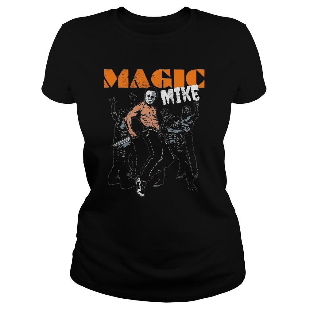Halloween Michael Myers Magic Mike Longsleeve